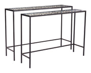 Web Set of 2 Console Tables