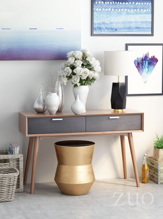 Tambor Gold End Table