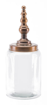 Tower Jar Medium Brass
