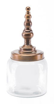 Tower Jar Small Brass