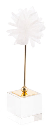 White Flower Pedestal Smallall