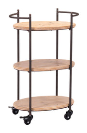 Tri Level Bar Cart