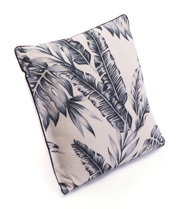 Black Leaves Pillow