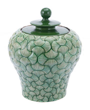 Ventra Smallall Temple Jar Green