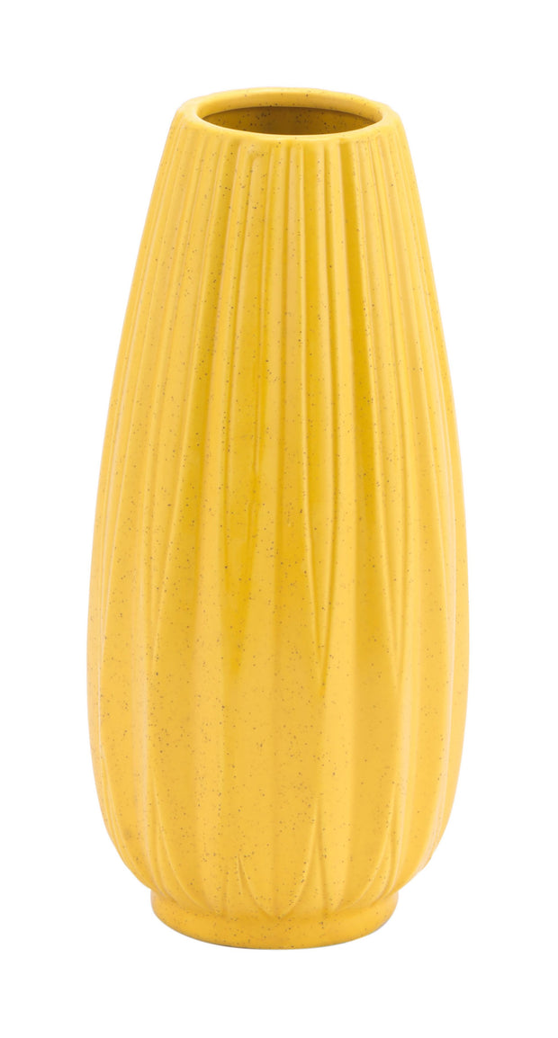 Acacia Medium Vase Yellow