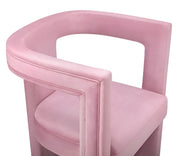 Ada Pink Velvet Chair