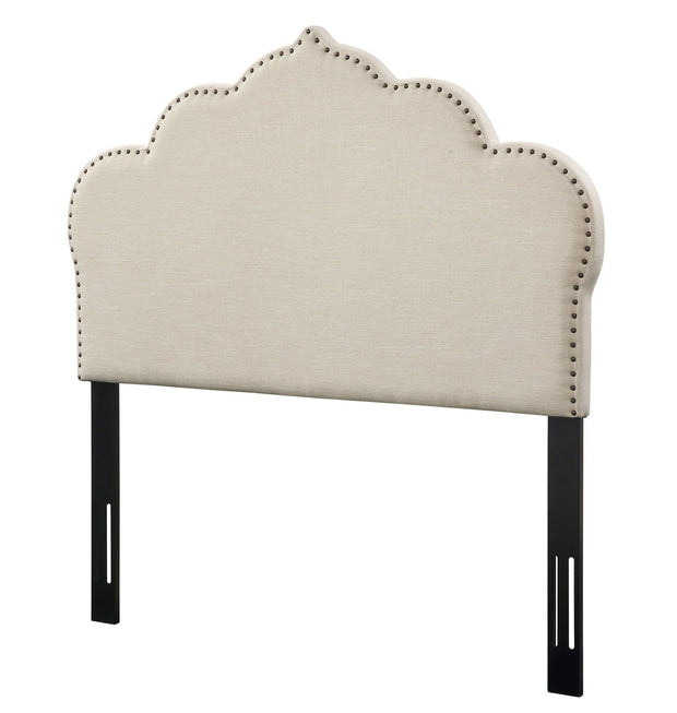 Noches Full Headboard in Beige Linen