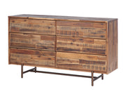 Bushwick Wooden 6 Drawer Dresser
