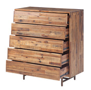 Bushwick Wooden 5 Drawer Chest