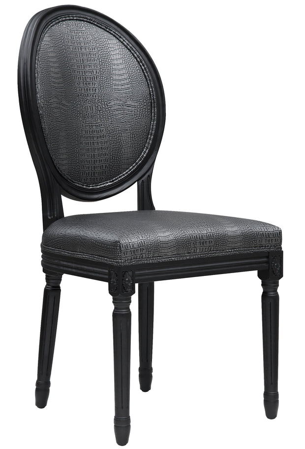 Philip Croc Dining Chair  (Set of 2)