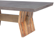 Astoria Dark Concrete Table