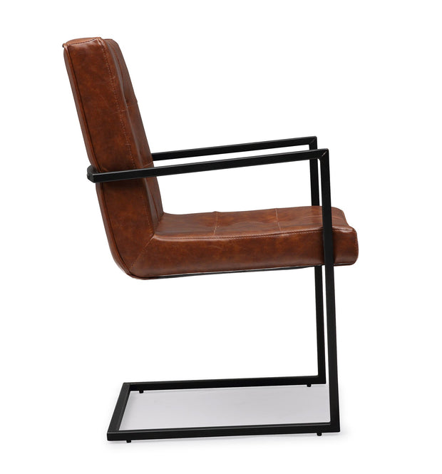 Stanley Brown Arm Chair
