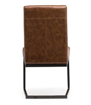 Austin Brown Chair (Set of 2)