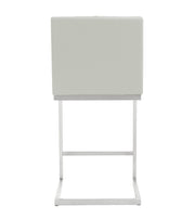 Helsinki Light Grey Steel Counter Stool (Set of 2)