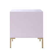 Anna Pink Lacquer Side Table