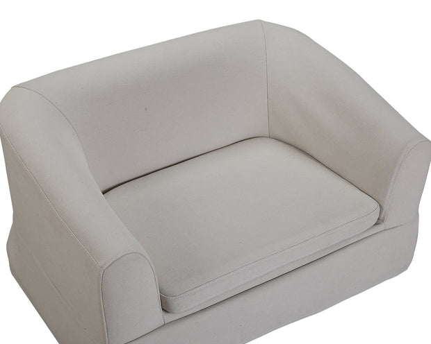 Molly Beige Linen Pet Bed