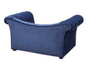 Dachshund Navy Pet Bed