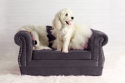 Yorkshire Grey Pet Bed
