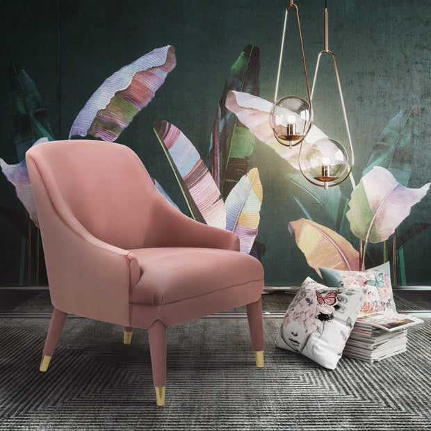Orchid Velvet Chair