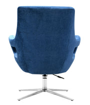 Fifi Navy Swivel Chair