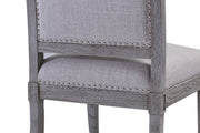 Addington Beige Linen Side Chair (Set of 2)