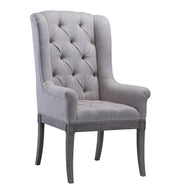 Addington Beige Linen Arm Chair