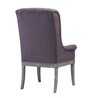 Addington Grey Linen Arm Chair