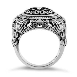Flower Power Sterling Silver Ring