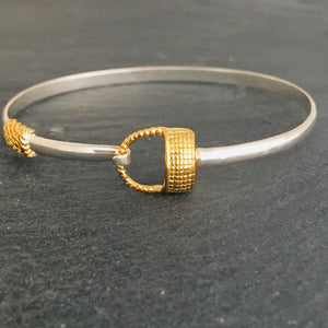 Nantucket basket bangle