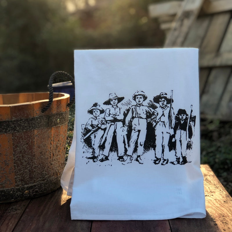 The Tom Sawyer: Band of Robbers Dishtowel