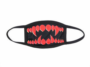 Open image in slideshow, Red Monster Teeth Dust Mask