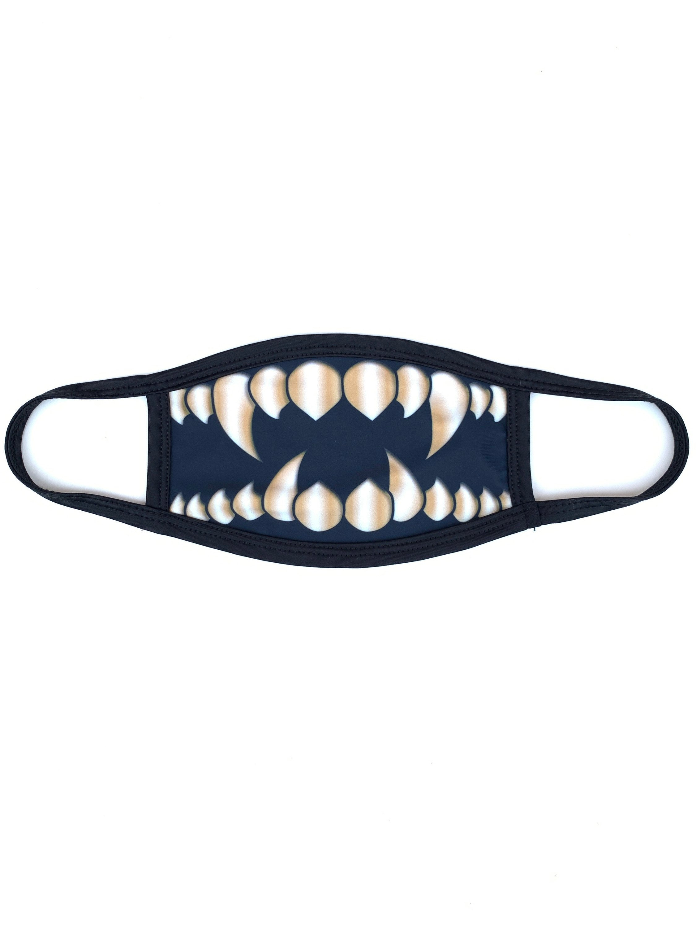 Gold Monster Teeth Dust Mask