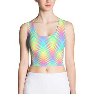 Open image in slideshow, Trippy Crop Top