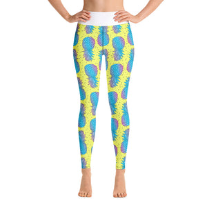 Pineapple Yoga Leggings