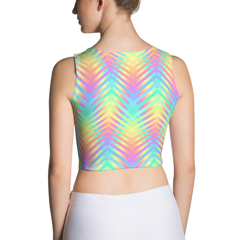 Trippy Crop Top