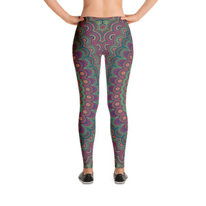 Open image in slideshow, Mandala Leggings