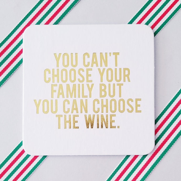 Holidays with the Family Coasters