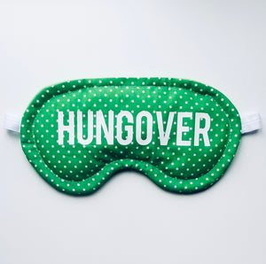 Green Hungover Cooling/Heating Eye Mask