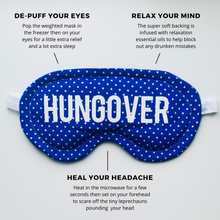 Blue Hungover Cooling/Heating Eye Mask