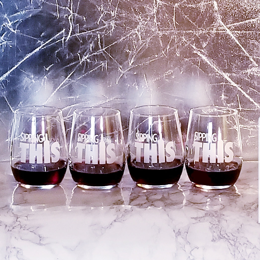 Wine Tasting Gift Set | Mini Wine Glasses