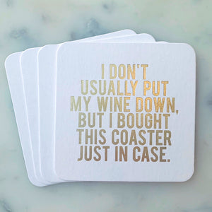 Just in Case Coasters