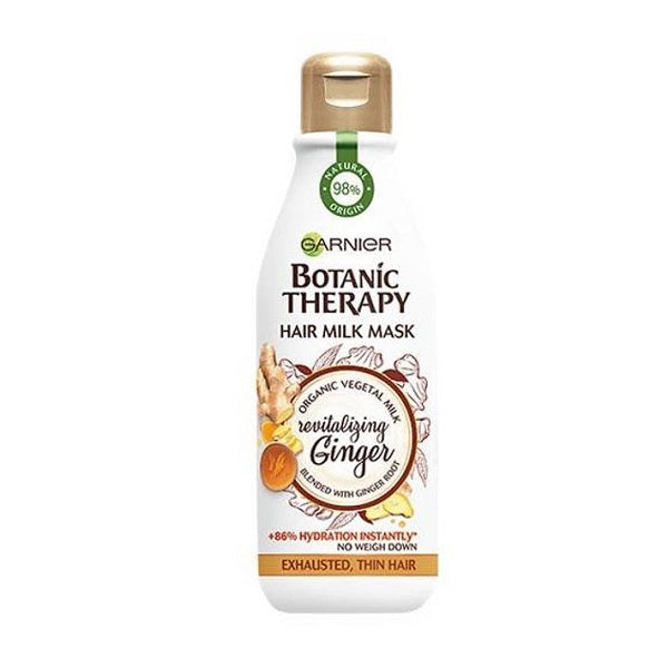 Botanic Therapy Milk Mask maska do włosów cienkich i zmęczonych Revitalizing Ginger 250ml