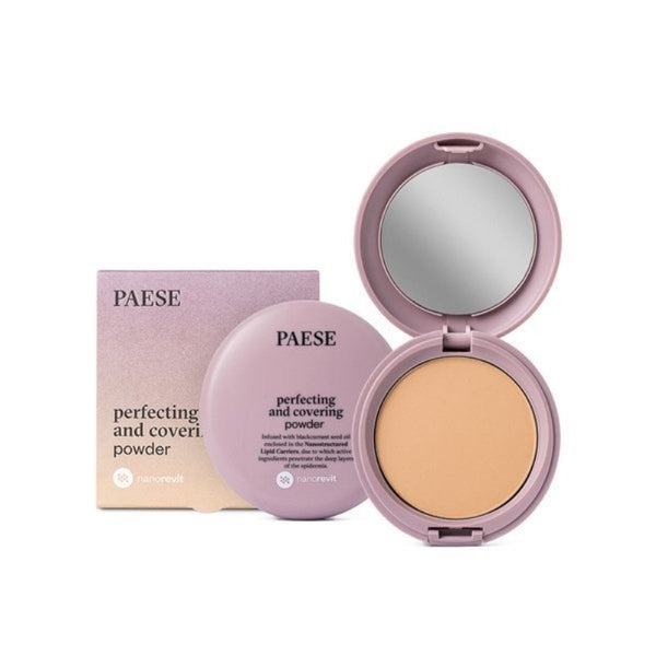Nanorevit Perfecting and Covering Powder puder upiększająco-kryjący 06 Honey 9g