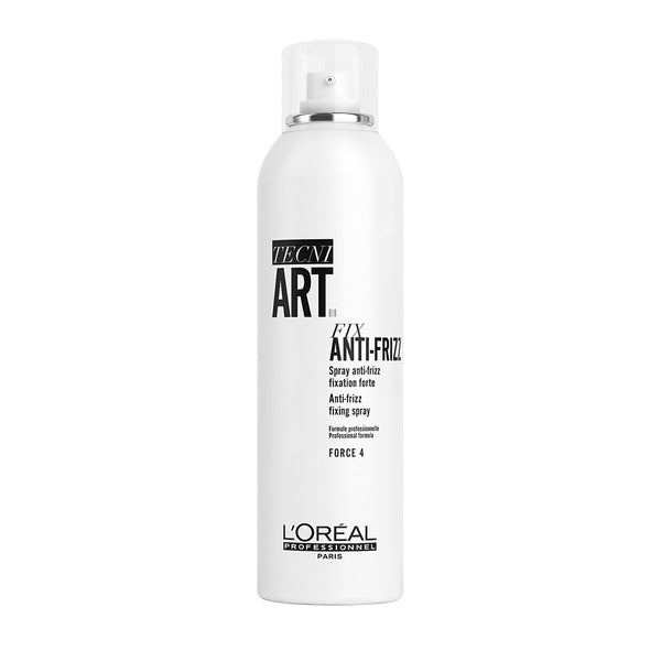 Tecni Art Fix Anti-Frizz Fixing Spray mocno utrwalający lakier do włosów Force 4 250ml