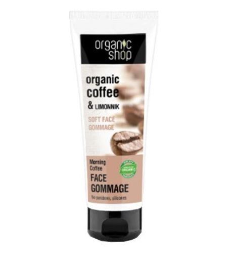Organic Coffee & Limonnik Face Gommage delikatny peeling do twarzy 75ml