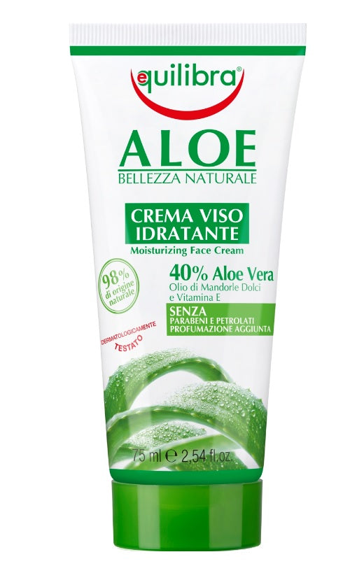 Aloe Moisturizing Face Cream aloesowy krem do twarzy 75ml