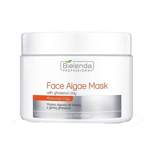 Face Algae Mask With Ghassoul Clay maska algowa do twarzy z Glinką Ghassoul słoik 190g