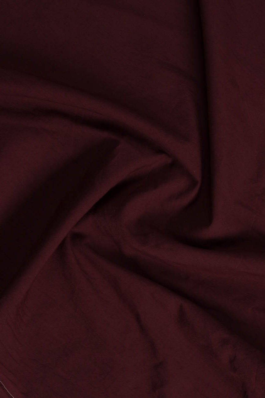 Maroon Color Un-Stitched 100 % Cotton Trouser By Yesonline.pk - yesonline.pk