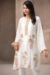 Closet Mix 1pc Pret Kurta (Cotton-Net,) By Yesonline.Pk - yesonline.pk