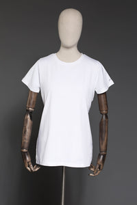 Plain White Yesonline.Pk Statement T-shirt - yesonline.pk